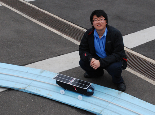 China Express - Model Solar Car